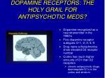 dopamine receptors the holy grail for antipsychotic meds