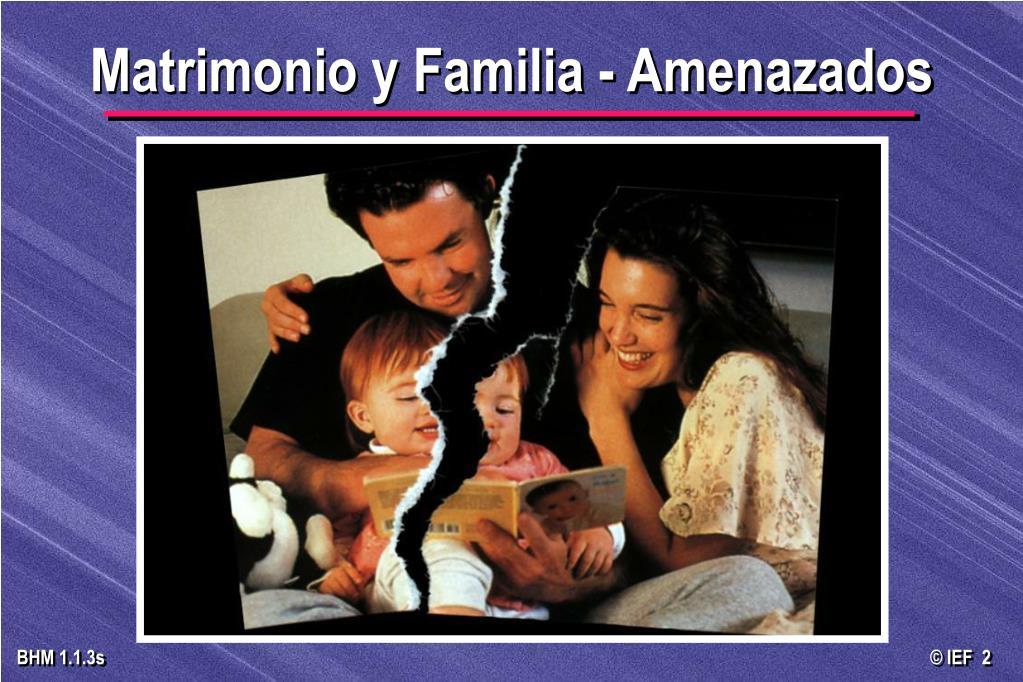 Matrimonio Y Familia : Ppt construyendo matrimonios sanos firmes felices