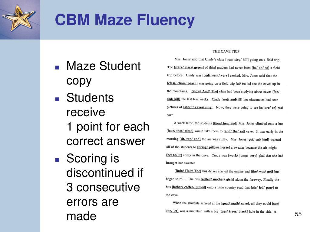 Maze Student copy