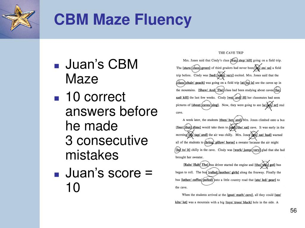 Juan's CBM Maze
