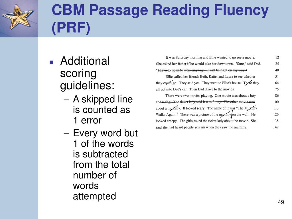 Additional scoring guidelines: