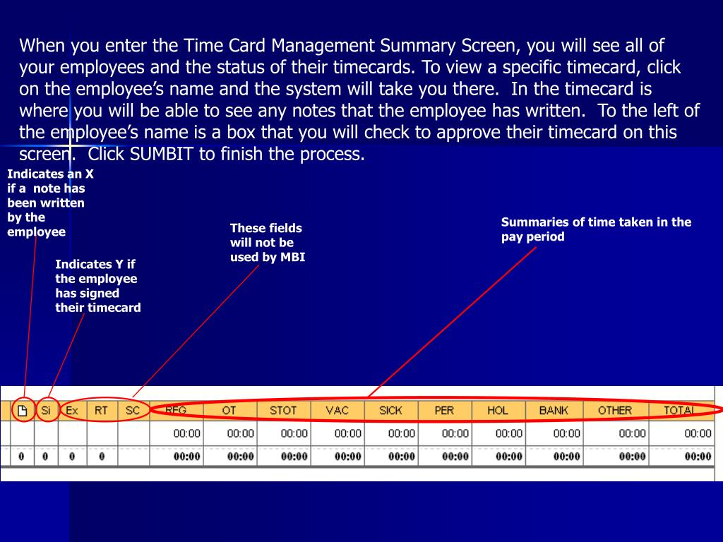 Login ceridian time professional - When You Enter The Time Card Management Summary Screen