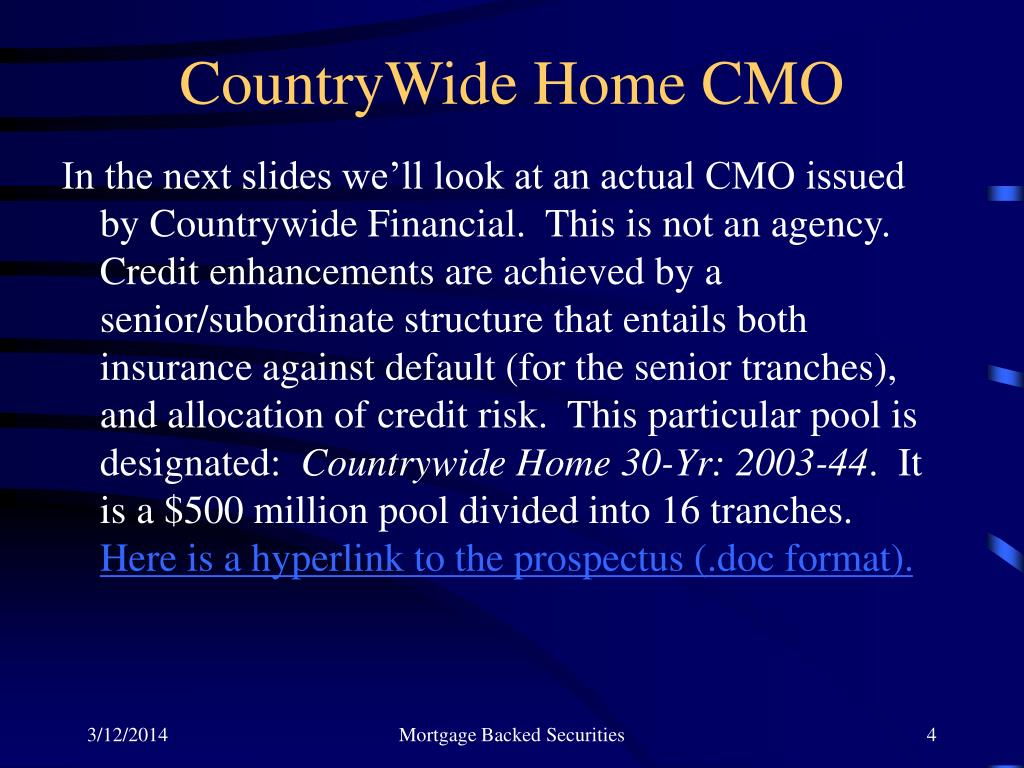 CountryWide Home CMO