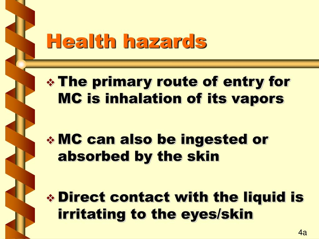 Health hazards