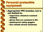 personal protective equipment69