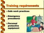 training requirements5