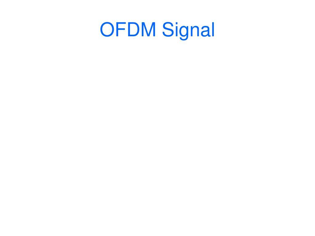 OFDM Signal