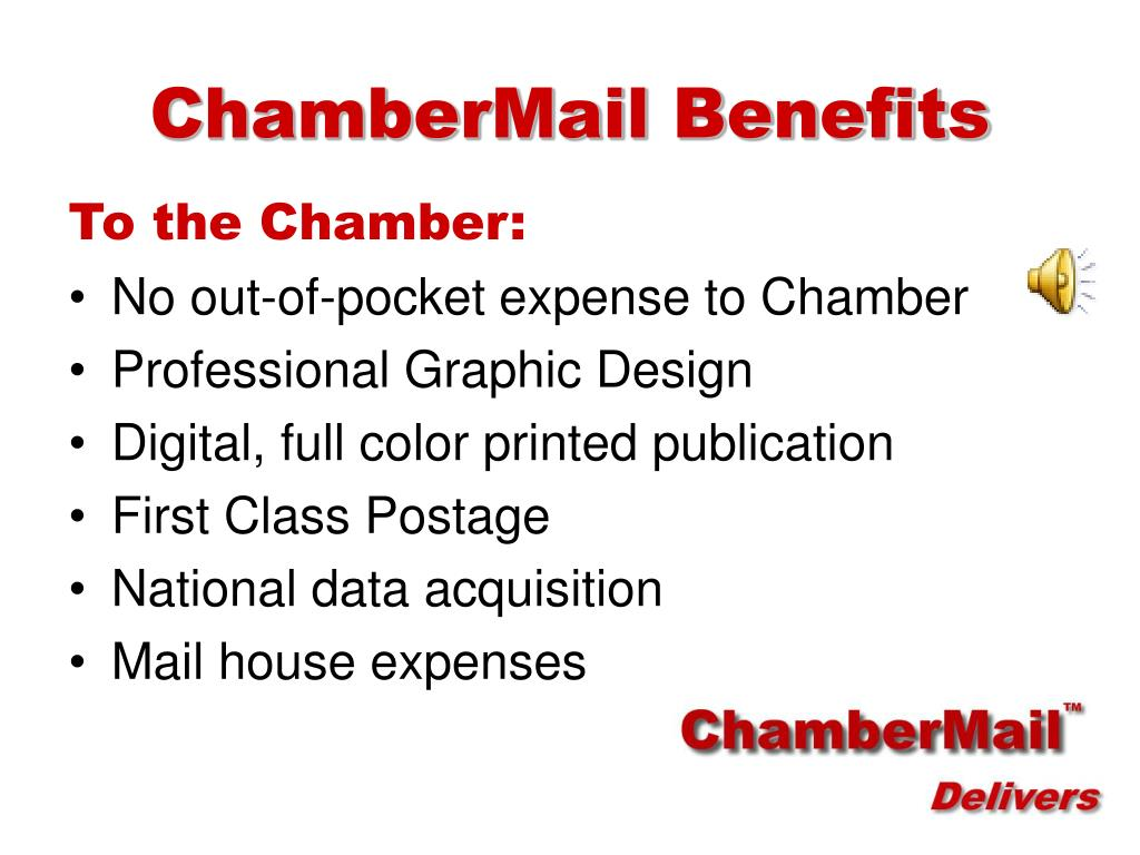 ChamberMail Benefits