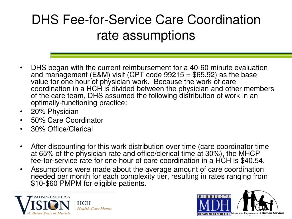 DHS Fee-for-Service