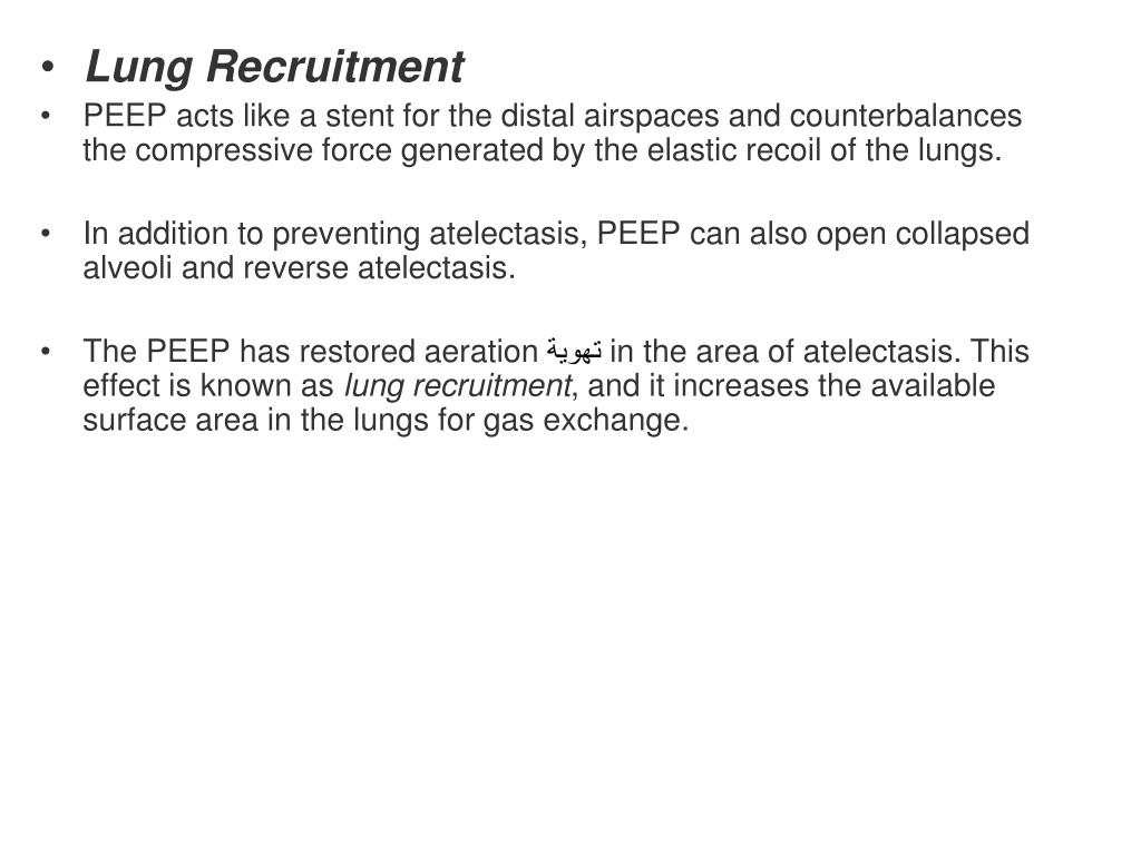 Lung Recruitment