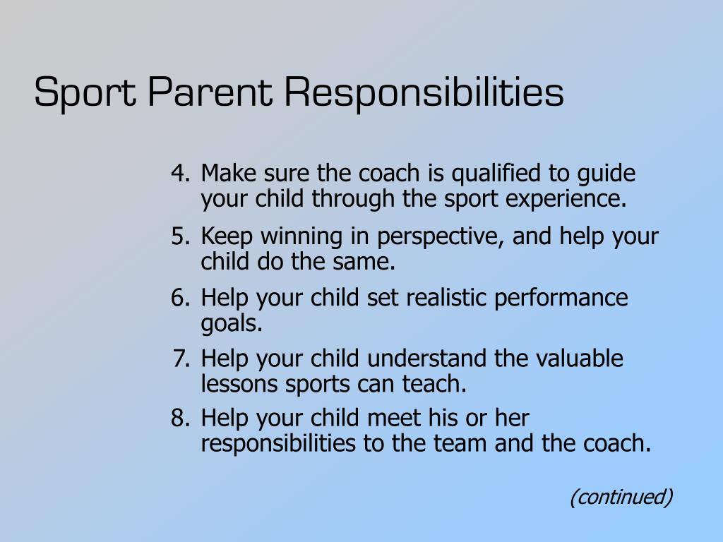 The huge role responsibility and stress in parenting