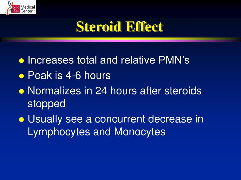 Steroid Effect