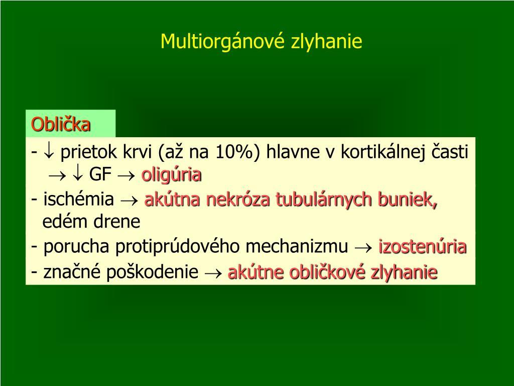 Multiorgánové zlyhanie