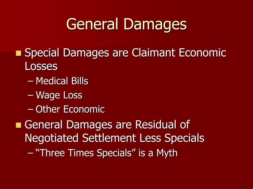 General Damages