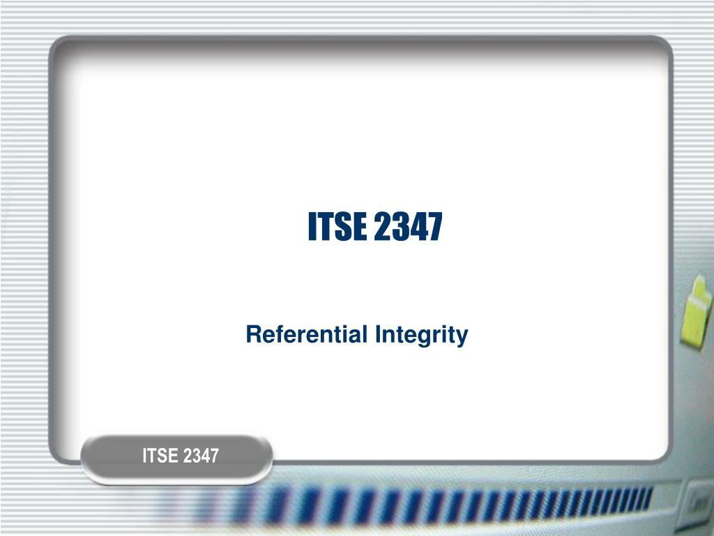 ITSE 2347
