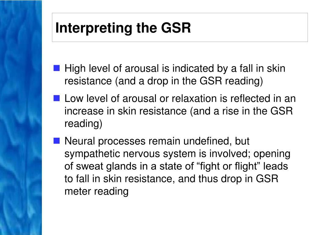 Interpreting the GSR