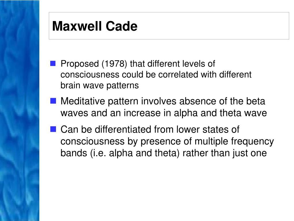 Maxwell Cade
