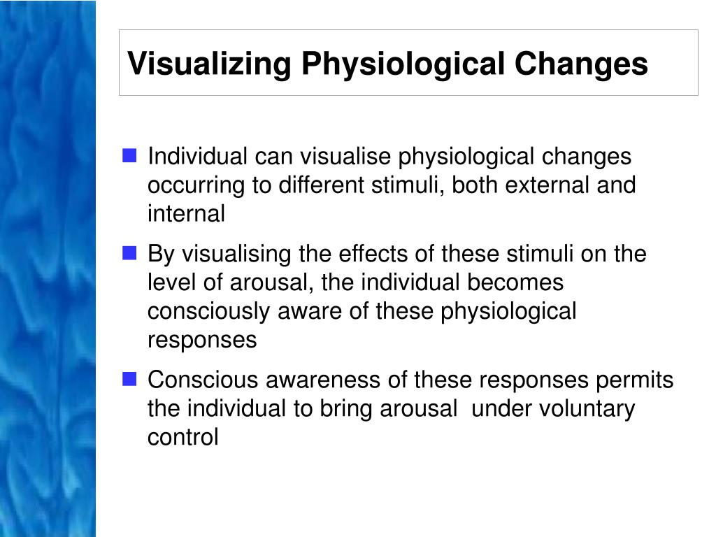 Visualizing Physiological Changes