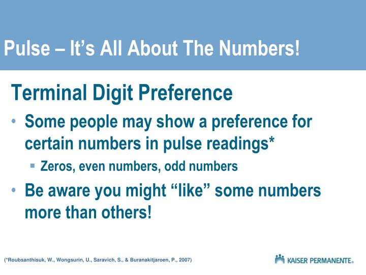 Pulse it s all about the numbers l.jpg