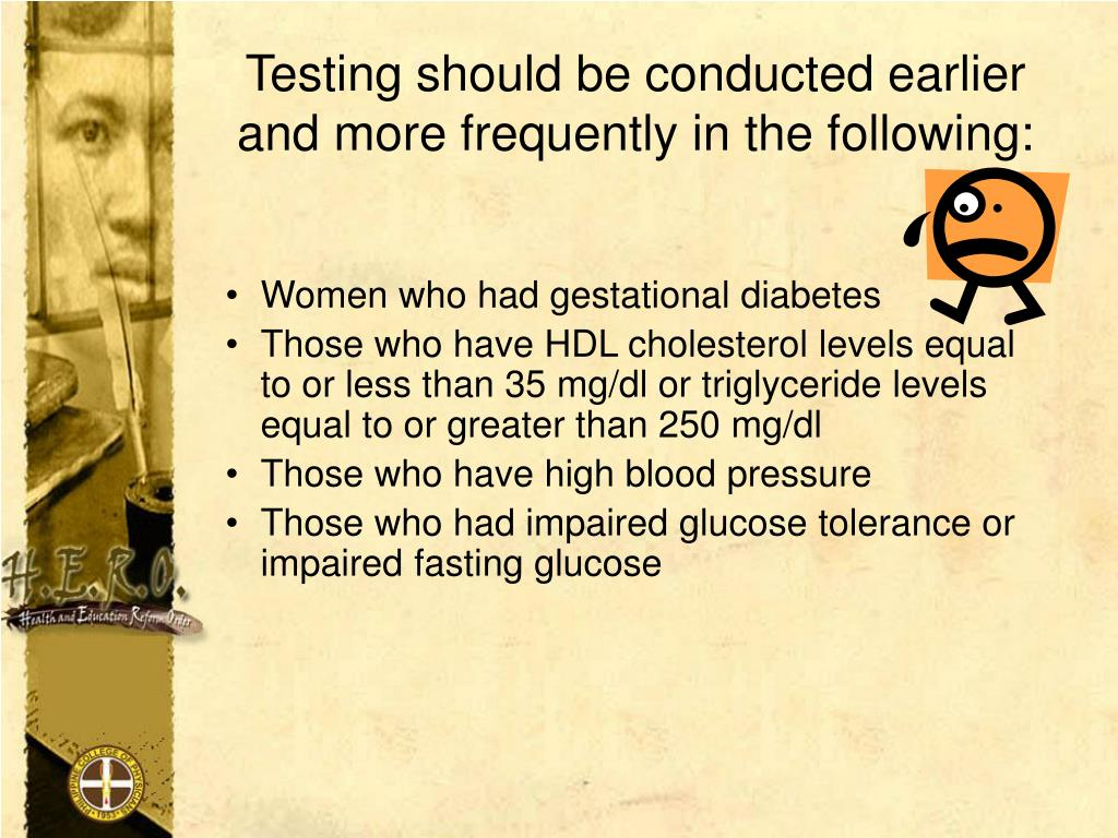 Testing should be conducted earlier      and more frequently in the following: