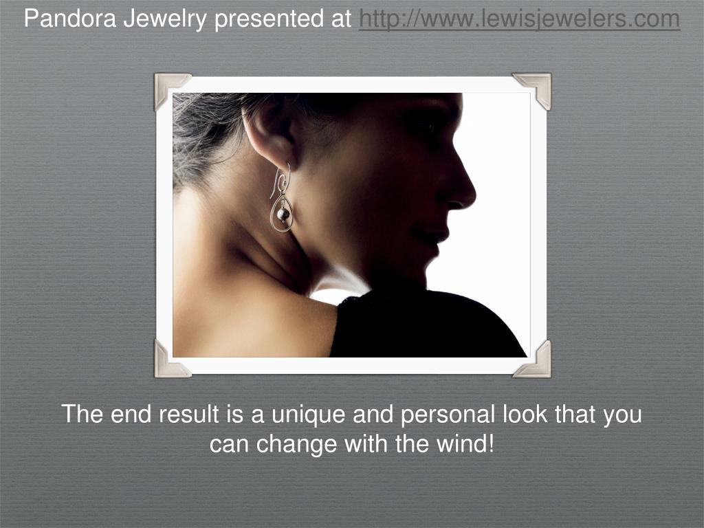 Pandora Jewelry presented at