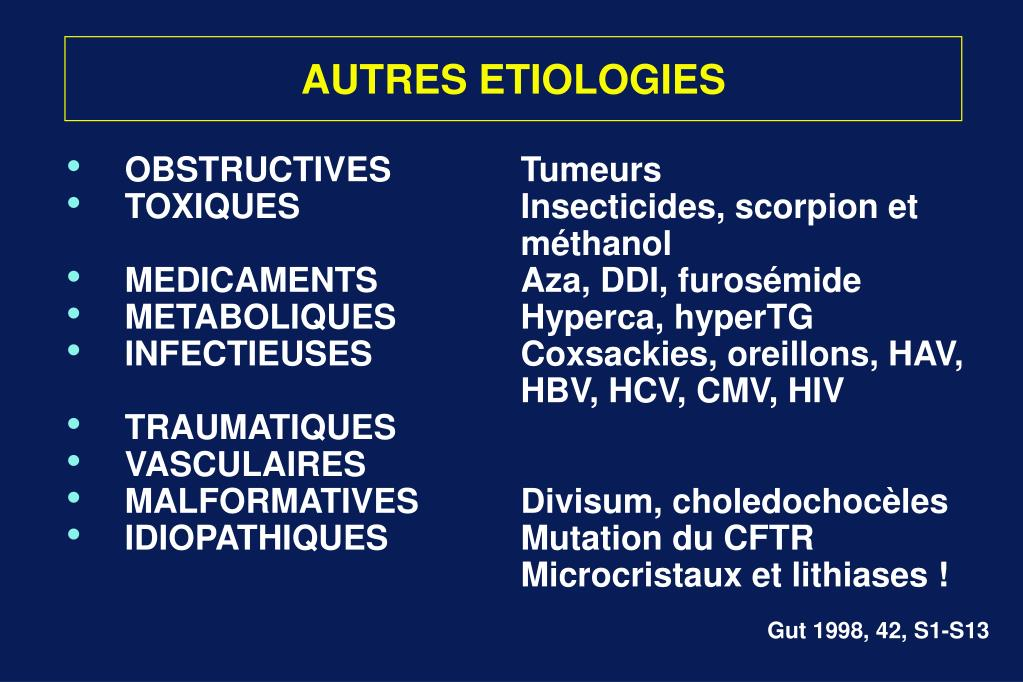 AUTRES ETIOLOGIES