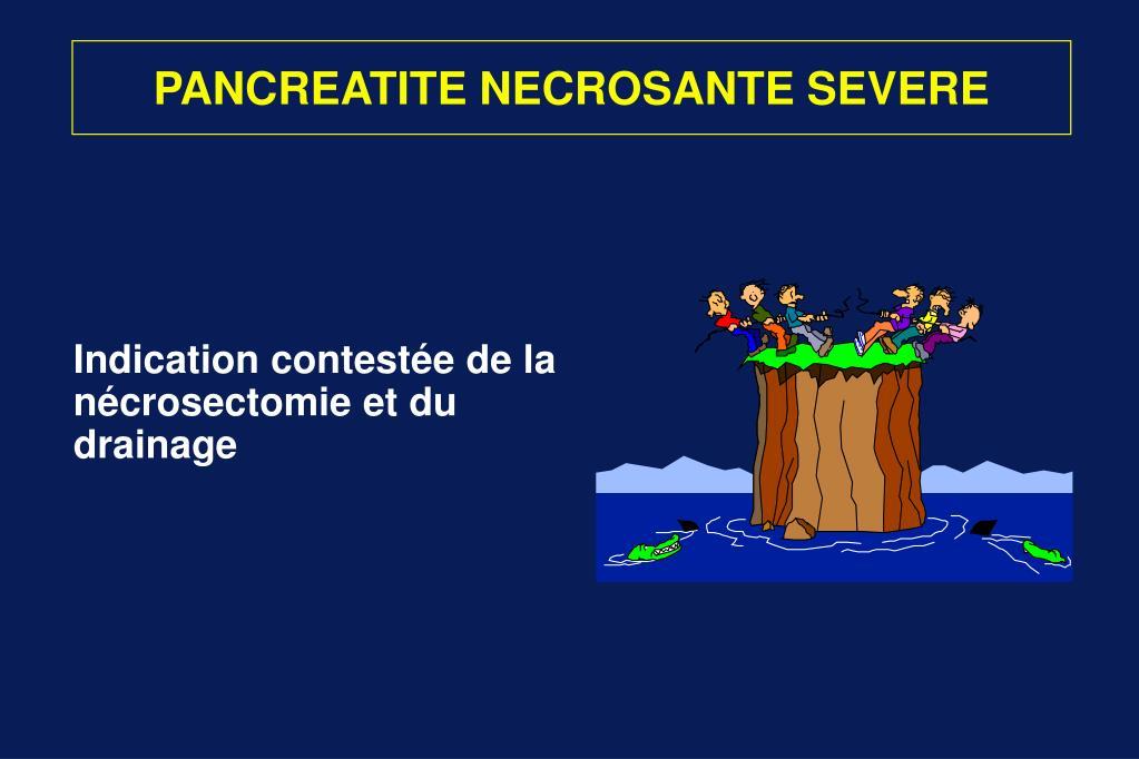 PANCREATITE NECROSANTE SEVERE