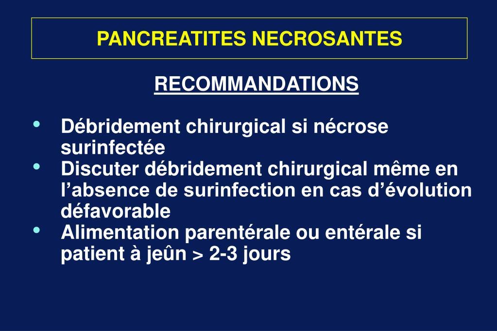 PANCREATITES NECROSANTES