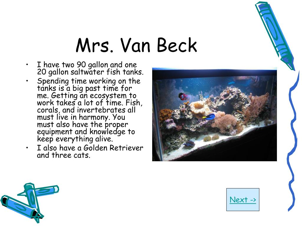 Mrs. Van Beck