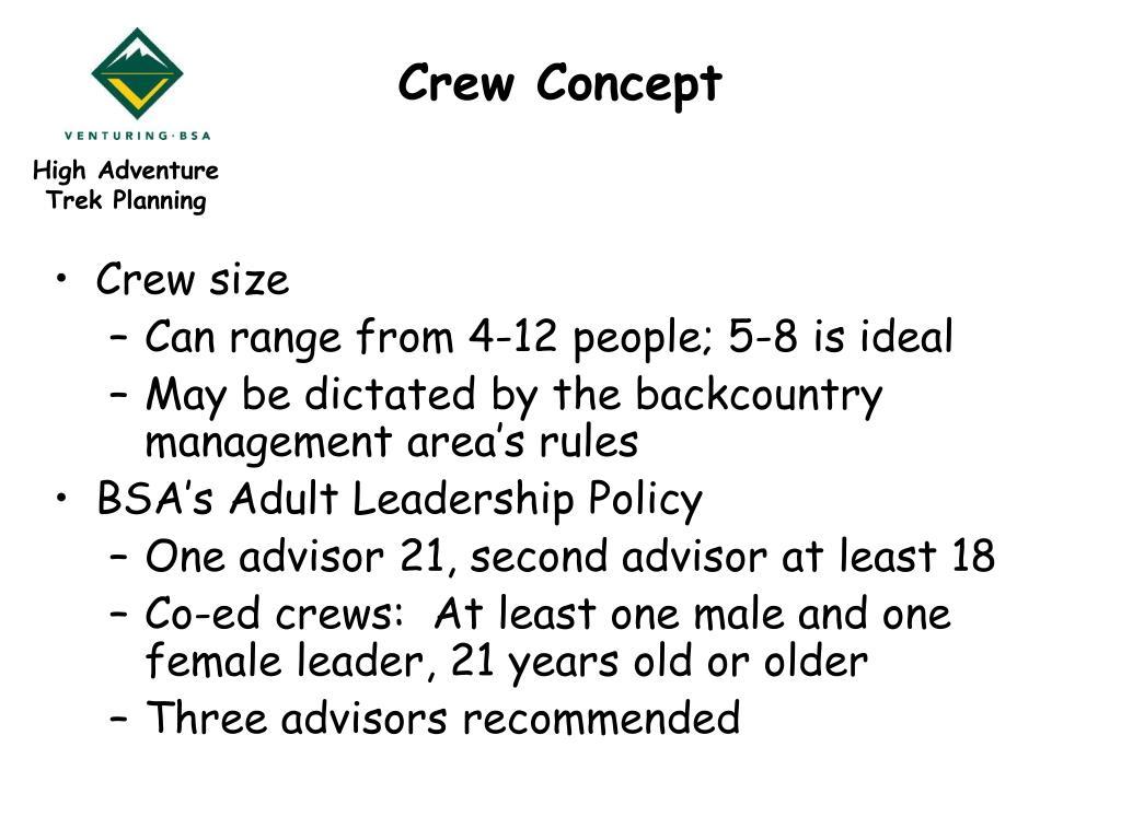 Crew Concept