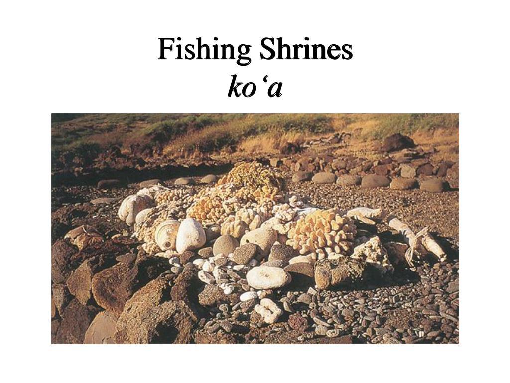 Fishing Shrines