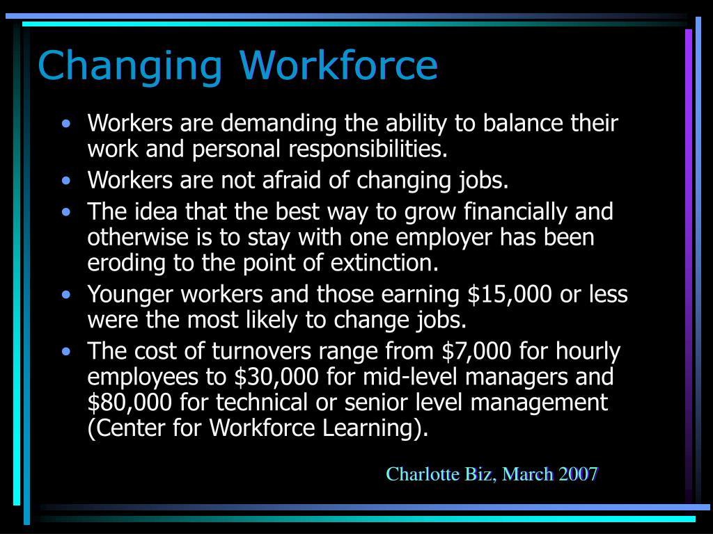 Changing Workforce