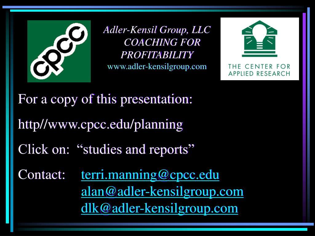 Adler-Kensil Group, LLC