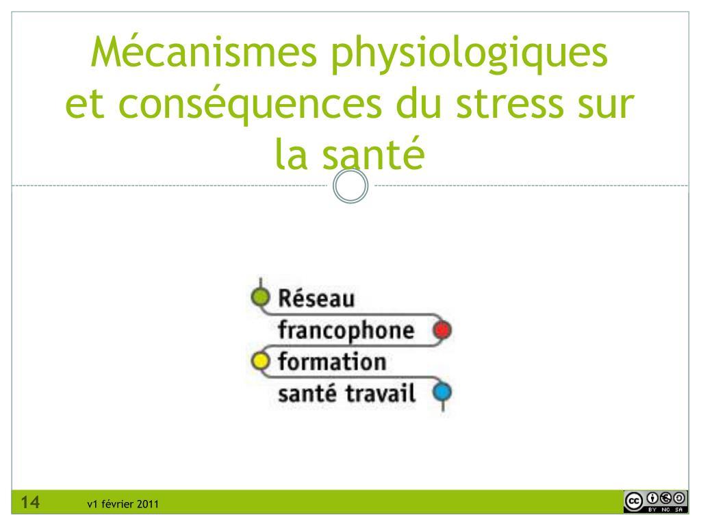 Mécanismes physiologiques