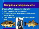 sampling strategies cont8