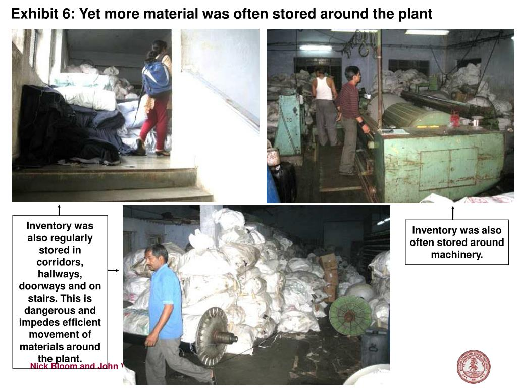 Exhibit 6: Yet more material was often stored around the plant