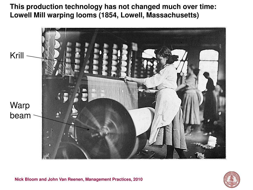 This production technology has not changed much over time: