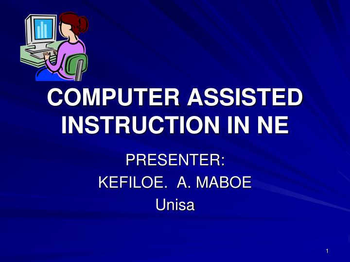 Computer assisted instruction in ne l.jpg