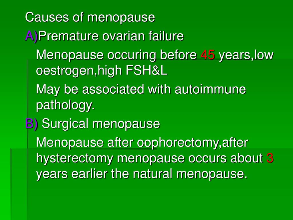 Premature Ovarian Failure Treatment Natural