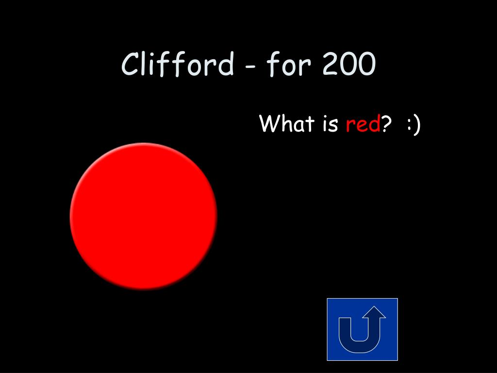 Clifford - for 200
