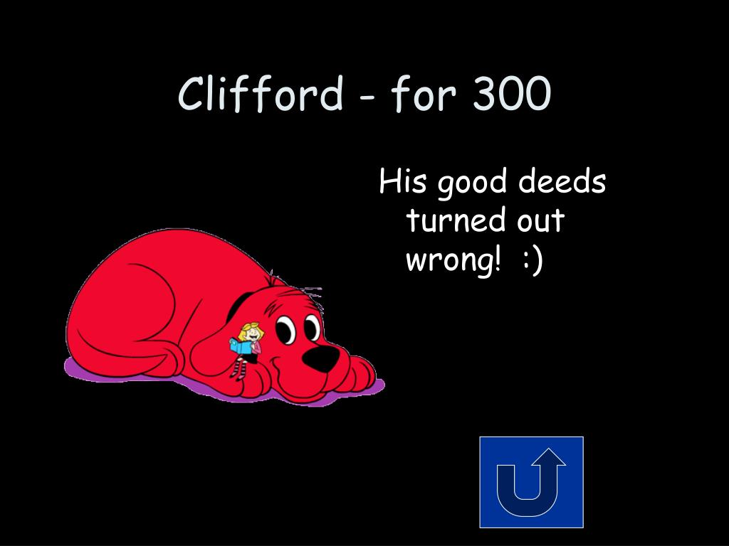 Clifford - for 300