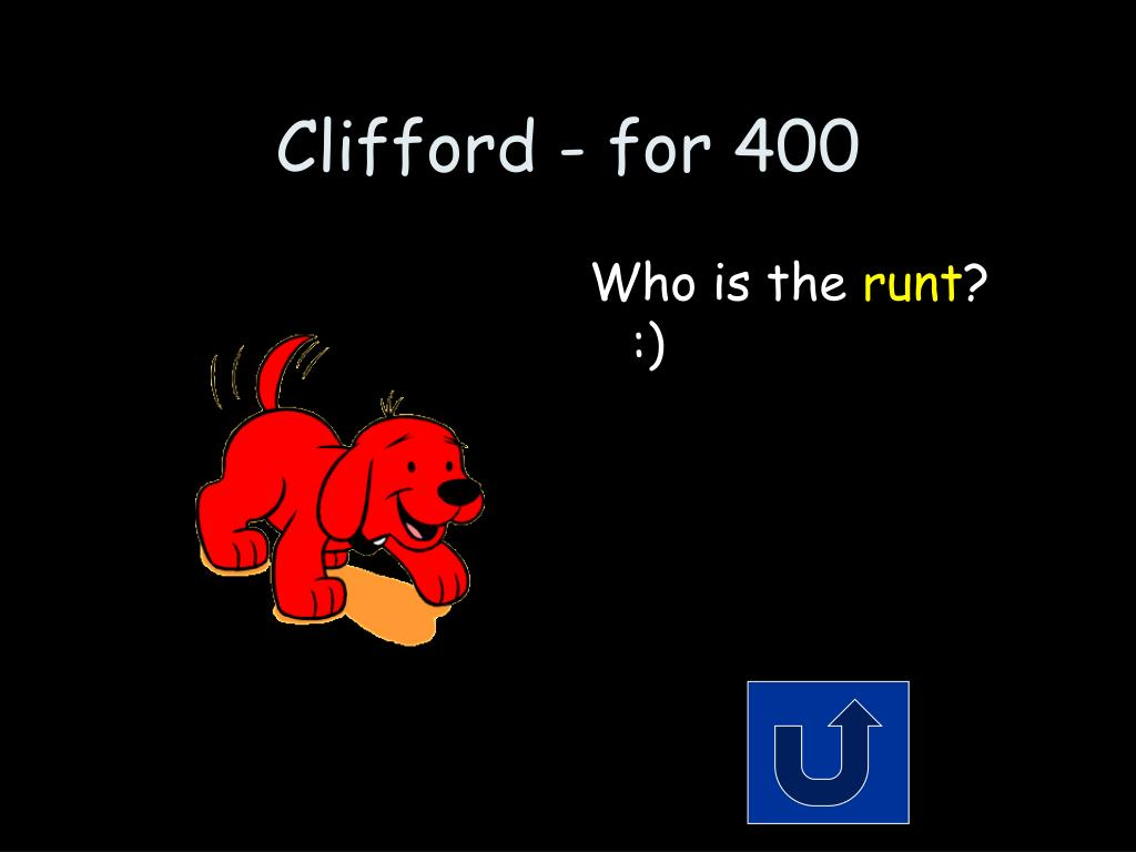 Clifford - for 400