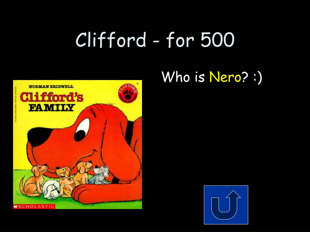 Clifford - for 500