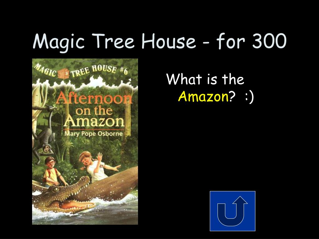 Magic Tree House - for 300