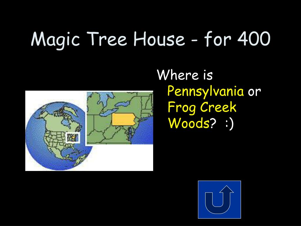 Magic Tree House - for 400