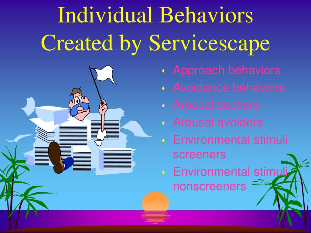Individual Behaviors Created by Servicescape