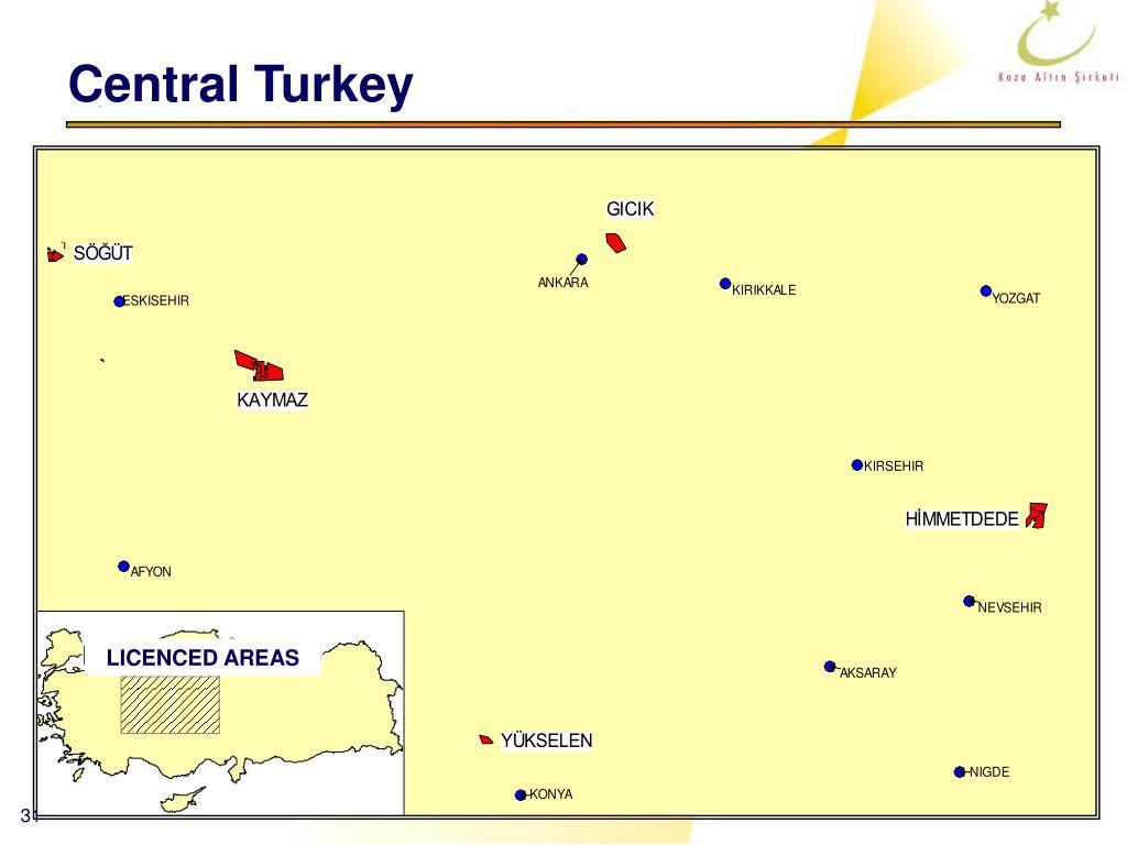 Central Turkey