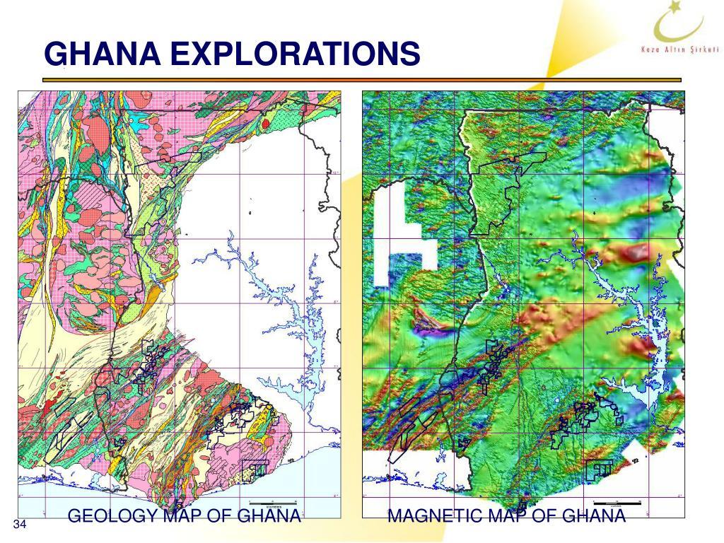GHANA EXPLORATIONS