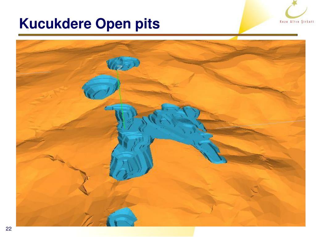 Kucukdere Open pits