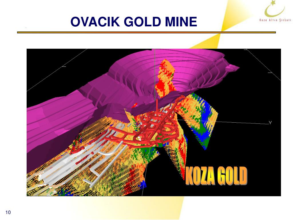OVACIK GOLD MINE